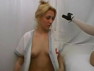 Nude nurse hairy Hairy nurses start lezzing until doc joins in