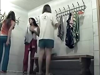 Nude gils in locker room Hidden cam in locker room