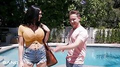 Trickery - Pool Boy Tricks Busty MILF Into Fucking Him
