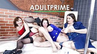 3x BBW Grannies at AdultPrime