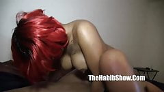 thickred dick sucking ghetto hood slob nut
