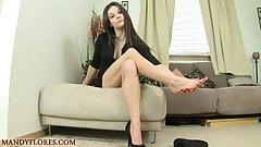 Mandy Flores - Sexy Feet Tease