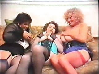 Pat wives bottom - Busty pat wynn aka auntie jane, millie minchen and a friends
