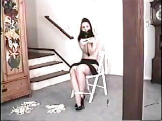 Bondage girl 2 game Lets play self bondage game 2