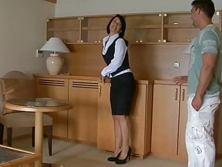 Receptionist fuck - Beautiful receptionist rihana samuel