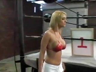 Ebony boxing ring fuck - Boxing ring sex