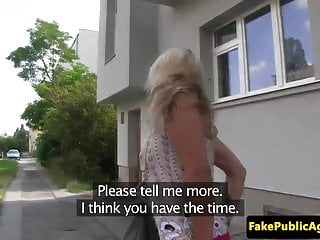 Doggystyle amateur video Pickedup bigtitted eurobabe doggystyle fuck in public