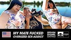 Fat gal Samantha Kiss gets some man meat! StevenShame.dating