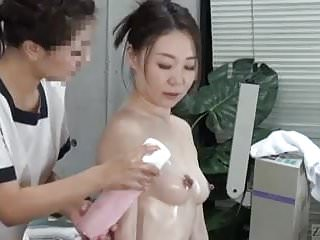 Massage spa erotic Subtitled cfnf japanese oiled up lesbian vaginal massage spa