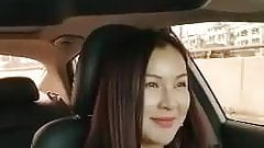 Chinese MILF Flashes Pussy