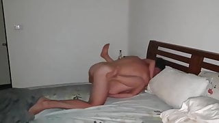 Chinese wife taking White Cock 2 (WMAF)