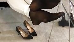 Jeans nylon feet and soles 2
