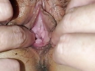 Sex aisan Skinny aisan stretching gaping wide open pussy show cervix