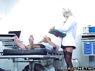 All condom brands Amazing blonde brooke brand getting pleasured by her patient