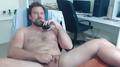 Hairy uncut likes showing his hairy shaft