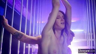 Deeper. Ashley Lane explores her anal kinks & rope bondage