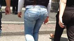 Young milf, big ass, tight jeans