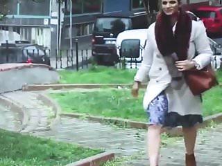 Brown pantyhose pictures - Slut turkish woman in shiny brown pantyhose