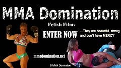 Female Domination- Beatdowns and Head Scissors