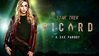 Sex Adventure With Lily Larimar As Seven Of Nine – STAR TREK
