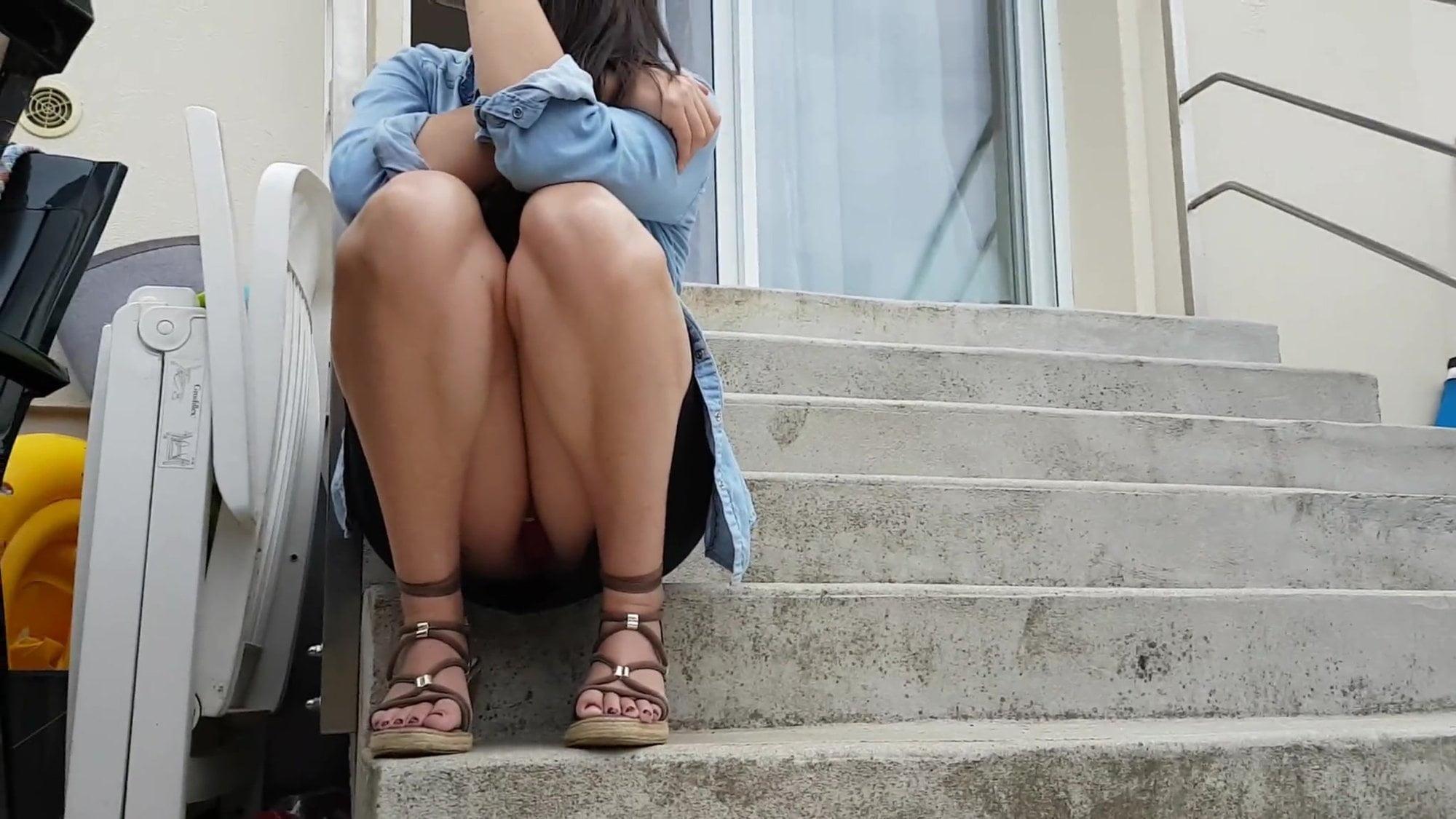 Candid Teen Feet Voyeur