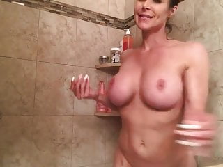 Boob kendra wilkinson Kendra milf with big fake boobs shower fun by whitewolfpl