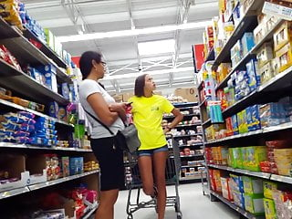 Porn teen long trailers Candid voyeur hot teen long legs grocery store with mom