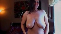 Rate My MILF - Busty amateur MILF playing with her juggs