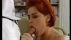 German Big Saggy Tits MILF Fucked 10 Inch Cock Stockings