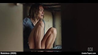 Celebrity Yvonne Strahovski Underwear Movie Scenes