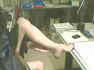 Stockings legs fuck - Super sexy stockings legs in cam 1