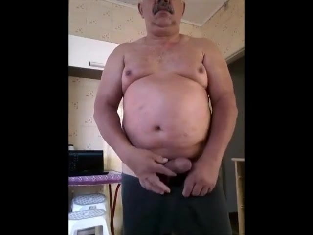 Old man with huge cock
