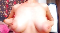 hot girl with puffy nipples and great tits