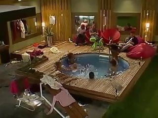 Big brother 9 uk naked Big brother uk pool orgy