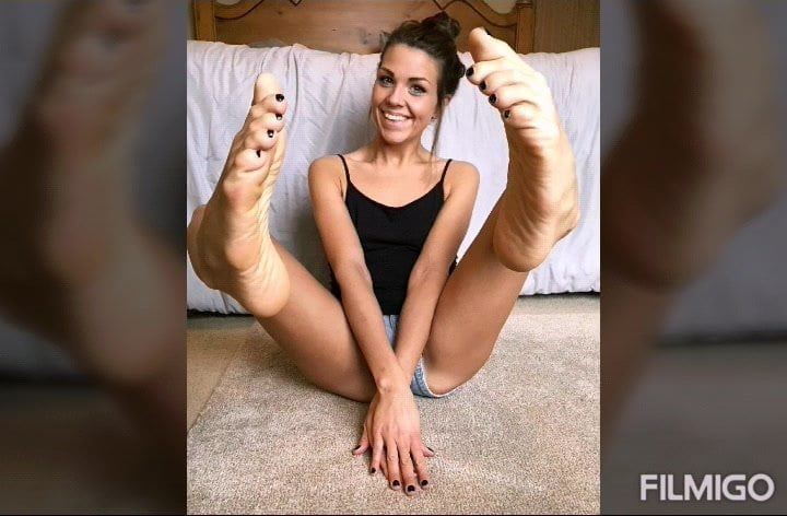 Foot Fetish Cum Challenge