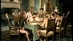 Moana Pozzi and Angelica Bella anal orgy - Anal Stars (1991)