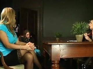 Boob punishment - :- punished by my headmistress at a british school-:ukmike