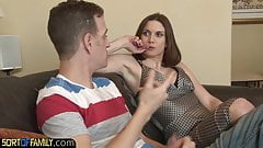 Cockhungry cougar plowed doggystyle