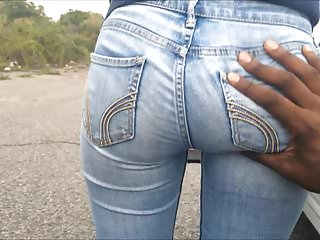 Asian girl groped by guys video Soft asian teen bubble butt grope in jeans
