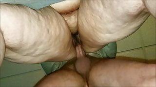 Fucking BBW wife