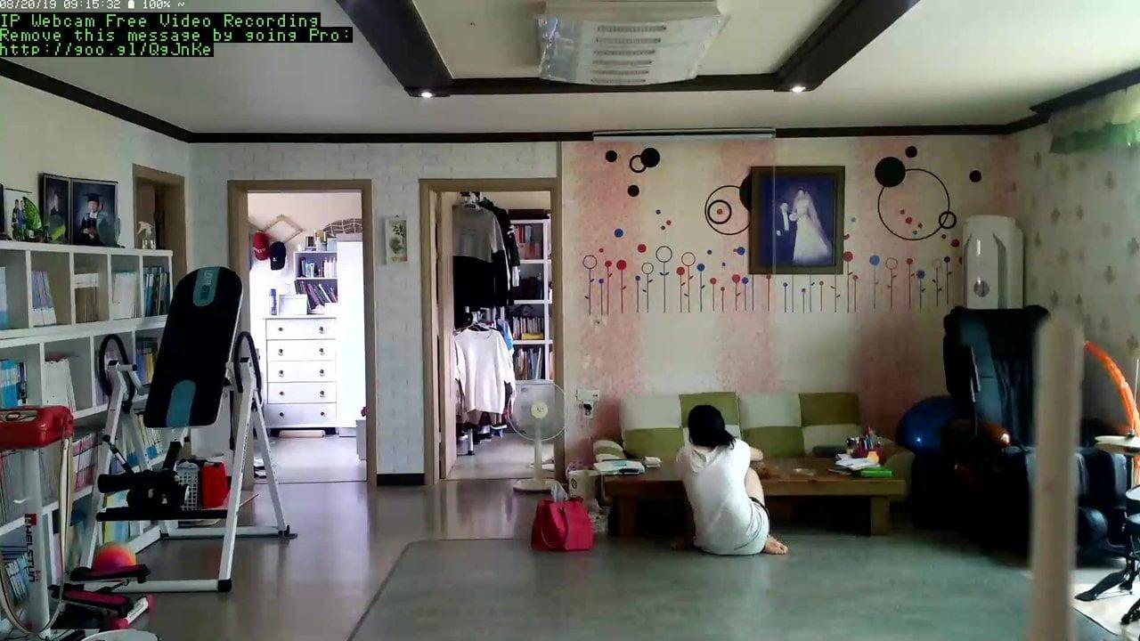 Hot day in Korea, Hidden Cam Leak Part 3 of 9