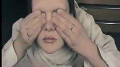 Carina adolescente innocente prende più trattamenti per il viso