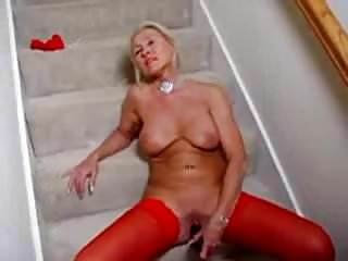 Terri hawkes nude - Lady hawk red stockings