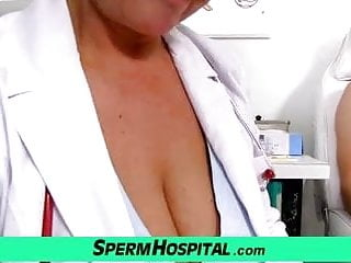 Asshole of lady doctor - Big tits lady greta is dirty doctor