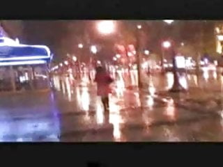 Down syndrome man naked Amandine walks naked down the champs elysees