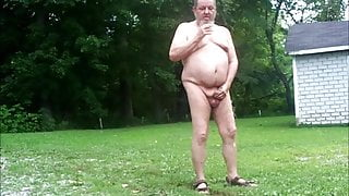 Early Morning Outdoor Piss