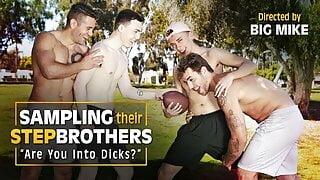 NextDoorTaboo - Dante & Carter Seduce Their New Stepbrothers