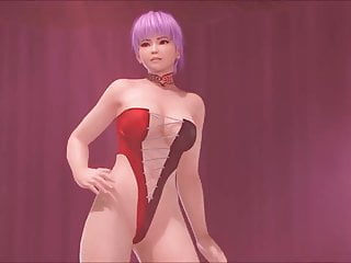 Dead or alive nude screenshots Dead or alive ayane poledance
