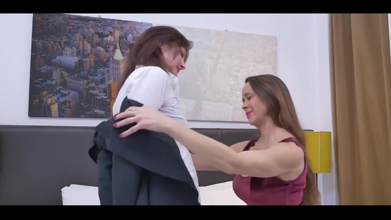 Two Mature Lesbians Strap