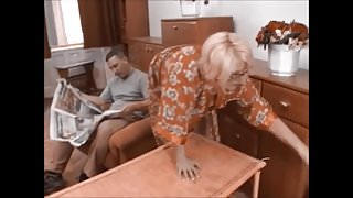 Russian Granny Get Cum on her Glasses (Recolored)